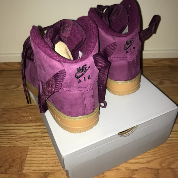 6fad535b605d Nike Air Force 1 High Wb Bordeaux Big Kids Girl